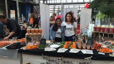 Groentehelden op de Good Food Fair